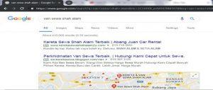 Carian Google Search Van Sewa Shah Alam